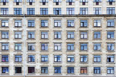 Background texture pattern of Buildings Royalty Free Stock Images