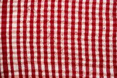 Background texture, pattern. Scarf wool like Yasser Arafat. The Palestinian keffiyeh is a gender-neutral checkered red and white. Scarf that is usually worn royalty free stock photo
