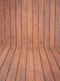 Background or Texture or Pattern of Surface brown wood Stock Photography