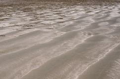 Background and texture photo of brown color sand stock image