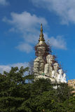 Background & texture. Photo of temple in thailand Stock Photos