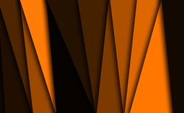 Orange texture background stock illustration