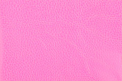 Background with texture of pink leather Stock Image