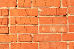 Background texture of red brick. Background texture red brick wall Stock Photo