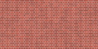 Background texture with red brick wall. And white mortar, English bond vector illustration