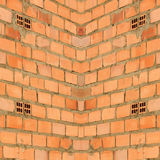 Background Texture of Red Brick Wall Stock Image
