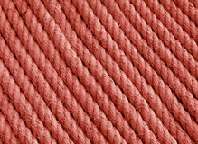 Background texture red stucture rope Stock Photos