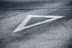 Background, texture, Road markings Stock Photo