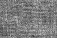 Texture of rough fabric gray color Royalty Free Stock Images