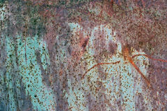 Background texture of rusted color metal. Rust metal background texture. Old rusted metal. Rusty grunge texture Royalty Free Stock Photography