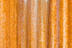 Background texture rusted corrugated metal Stock Photography