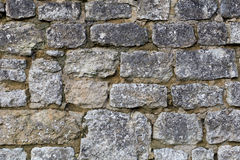 Background Texture Of Rustic Stone Wall Surface With Cement Royalty Free Stock Image