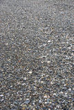 Background, texture of sea pebbles on the beach of the different size and color Royalty Free Stock Photos