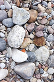 Background texture from sea stones Royalty Free Stock Photography