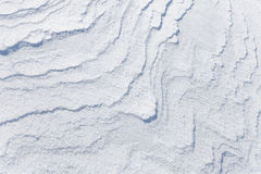 Background texture of snowdrift Royalty Free Stock Images