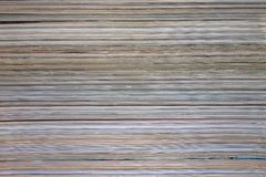 Background, texture of a stack of magazines. royalty free stock image