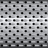 Background texture steel grater, vector background Royalty Free Stock Images