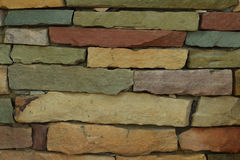 Background texture of stone wall of the brick walls. Royalty Free Stock Photography