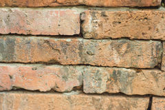 Background texture of stone wall of the old brick walls. Stock Images