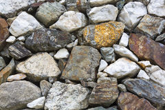 Background texture of stone wall Royalty Free Stock Images