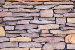 Background texture stone wall stacking layer Stock Photography