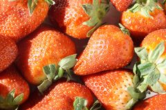 Background texture strawberry Stock Photo