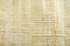 Background, texture: surface of natural Egyptian papyrus. Created by authentic technology Royalty Free Stock Images