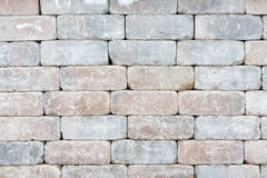 Background texture of a tumbled brick wall Royalty Free Stock Photography