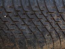 Background texture of used car tire Stock Image
