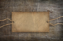 Background texture vintage burlap Royalty Free Stock Photography
