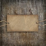 Background texture vintage burlap Stock Photo