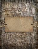 Background texture vintage burlap Stock Images