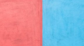 Background, texture wall red and blue color Stock Image