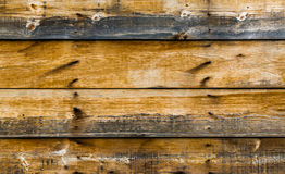 Background texture weathered wooden wall with charred spots Stock Photo