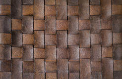 Background and texture of weave leather Royalty Free Stock Image