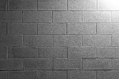 Background texture of a white brick wall Stock Image