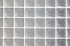 Glass block wall background Stock Image