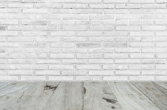 Background or texture. White misty brick wall for background or texture closeup color Royalty Free Stock Image