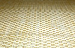 Background and texture of a wicker beige color with perspective Stock Image
