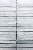 Background texture wood, old footbridge from weathered gray plan Royalty Free Stock Images