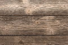 Background texture of wood parallel boards stacked horizontally gray brown palette background. Eco pattern Royalty Free Stock Images