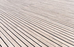 Background texture of wooden decking Royalty Free Stock Image