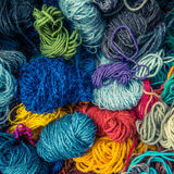 Background Texture Of Wool Stock Photo