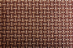 Background texture of woven hemp thread Stock Image