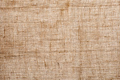 Background texture of woven jute fabric Stock Photos