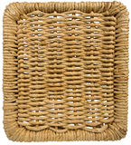 Background with Texture of Woven Wicker Stock Photography