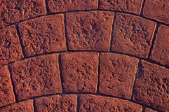 Background with textured cobbles Stock Photo