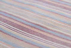 Background of textured cotton color striped Stock Image