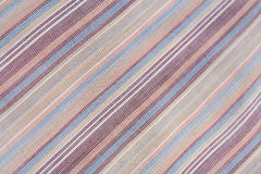 Background of textured cotton color striped Stock Photos