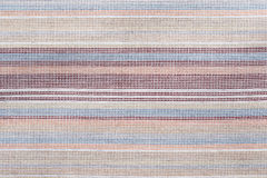 Background of textured cotton color striped Stock Images